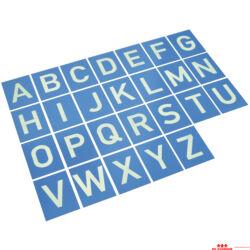 Tapintókártyák - betűk