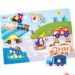 Közlekedés puzzle