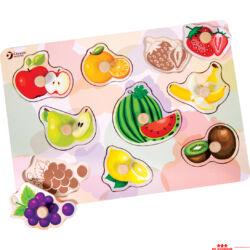 Gyümölcsök fogantyús kirakó
