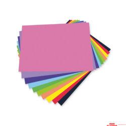 100 db-os, színes papírkészlet