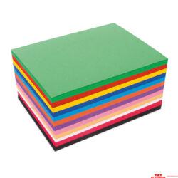 648 db-os színes papírkészlet