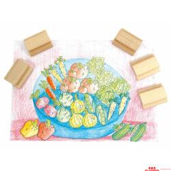 Pecsét - zöldségek