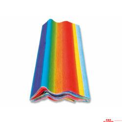 Szivárvány krepp-papír
