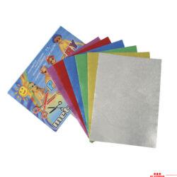 Fényes krepp-papír - kicsi