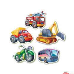 Járművek kirakó