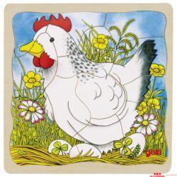 Rétegkirakó - csirke