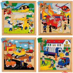 Utcai történetek puzzle