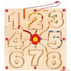 Mágneses labirintus - számok