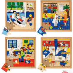 Egészségügyi foglalkozások puzzle
