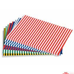 Csíkos kartonpapír készlet