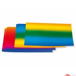 Szivárvány papír - kétoldalas