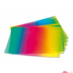 Szivárvány átlátszó papír