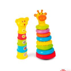 Állatkás tornyok