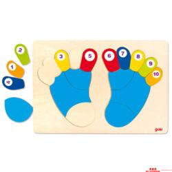 Számoló lábujjak