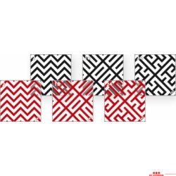 Zebra- kocka 9. - kártyacsomag