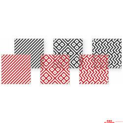 Zebra- kocka 25. - kártyacsomag
