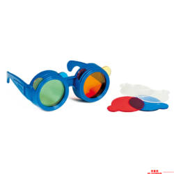 Színkeverő szemüveg