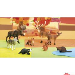 Az erdő állatai készlet