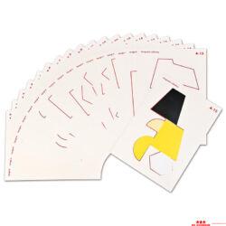 Óvodai tangram táblák