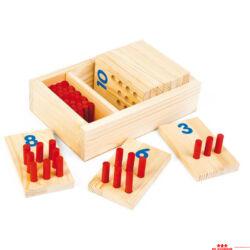 Számok és pálcikák 1-10