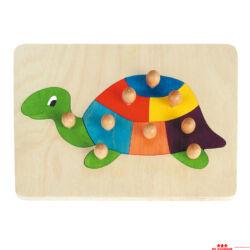Teknős kirakó