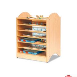Kirakó tartó szekrény
