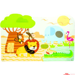 Szenzoros dzsungel falipanel