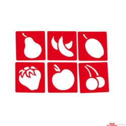 Sablonok - gyümölcsök