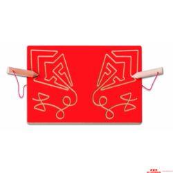 Kétkezes íráselőkészítő tábla - papírsárkány
