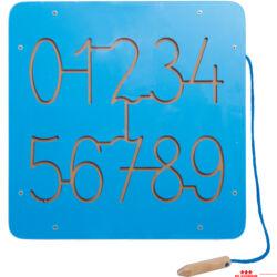Mágneses labirintusok - számok