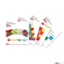 Kártyák az átlátszó kockákhoz