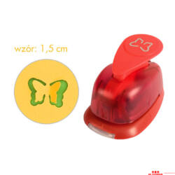 3D lyukasztók - 1,5 cm - lepke