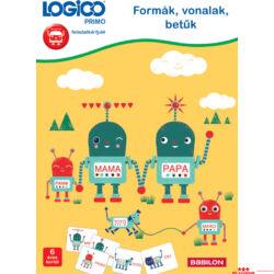 LOGICO - Formák, vonalak, betűk