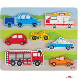 Járművek puzzle