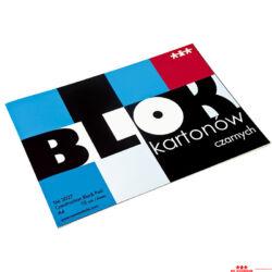 Fekete karton papír - A4