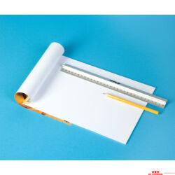 Fehér karton papír - A3 - 10 db