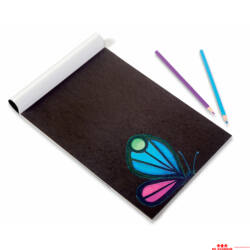 Fekete karton papír - A3
