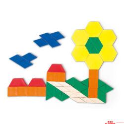 Műanyag mozaik 0,5 cm