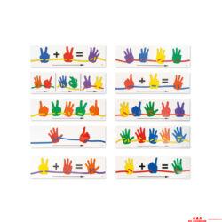 Kártyák a matematikai kézfejekhez