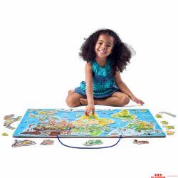 Óriás Föld puzzle
